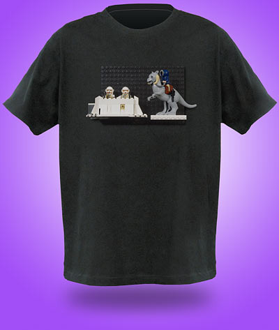 Brick Construction Shirt - Camisa personalizada Lego