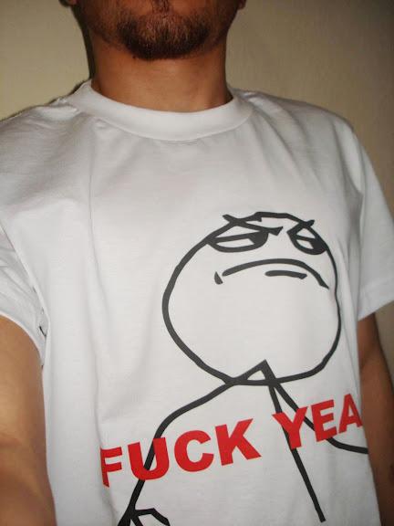Camisa FUCK YEA.
