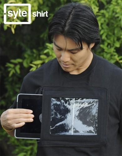 Camisa iPad: Painel Publicitário Ambulante
