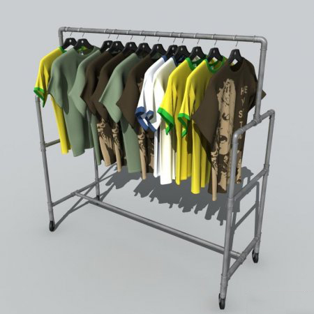Modelos de camisas no 3d Studio Max 2008 - VRay - Download