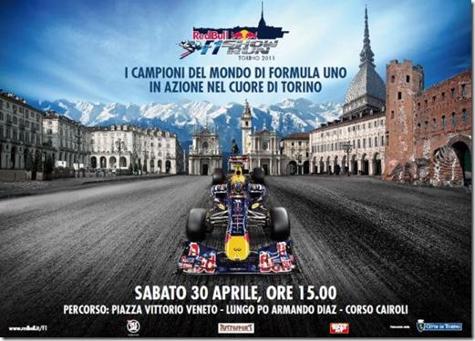 F1 a Torino con la Rdd Bull