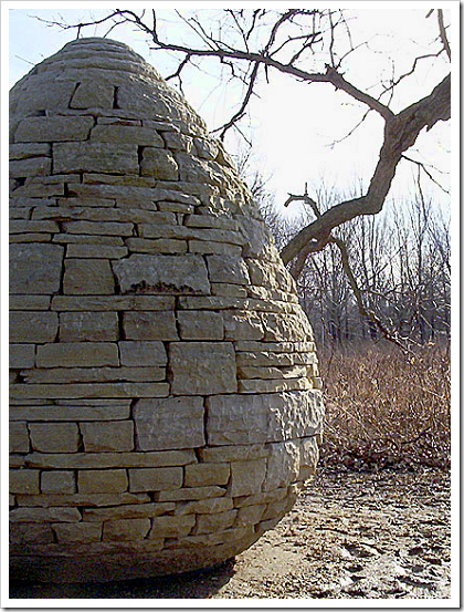 Rock art: Andy Goldsworthy's Cone