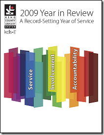 Click to view the KCLS 2009 Year in Review