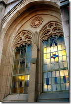 Suzzallo Library window
