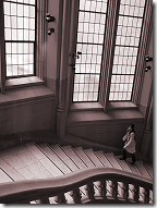 Suzzallo Library grand staircase