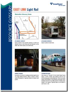 East Link Light Rail: Resource Glossary