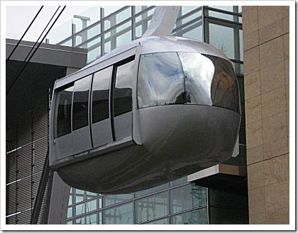 Portland Aerial Tram cabin