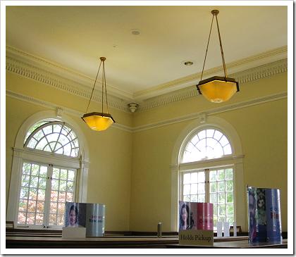Columbia City Library windows