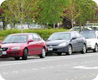 Redmond downtown parking