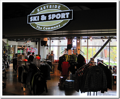 Microsoft Commons: Ski and Sport shop