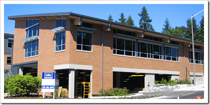 The new Lake Hills Library in Bellevue