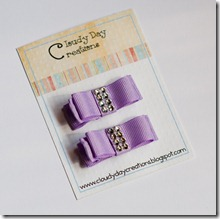 Purple clips