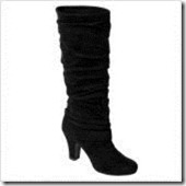 Kaki 17 Boots in Black