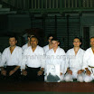 Кишинев, июль 1998г. Международный семинар Айкидо. После аттестации на 1-ый дан Айкидо. Шихан Масатаке Фудзита 8-дан Айкикай.