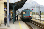 Bahnhof von Terrasini und Cinisi