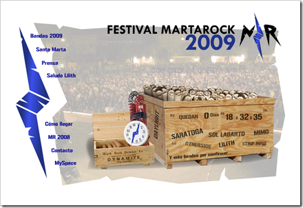 Festival MartaRock 2009
