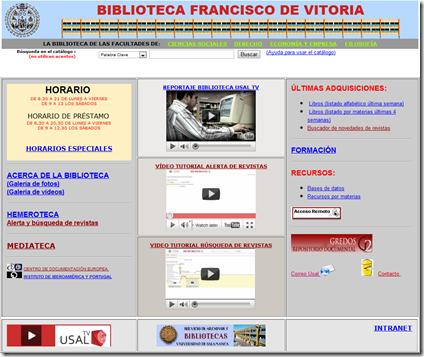 Biblioteca Francisco de Vitoria