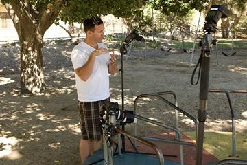 Scott Shepard talks to Jessica about the shot