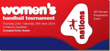 women´s handball tournament GB