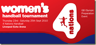 women´s handball tournament GB