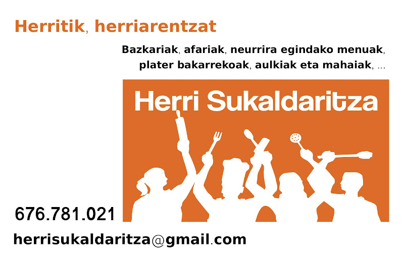 herri sukaldaritza txartela