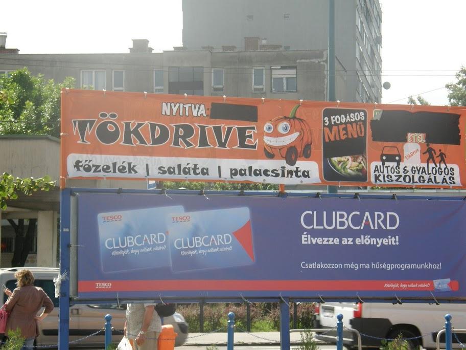 XIV. kerület, blog, Budapest, Fogarasi út,  Tesco, étterem, autós étterem, gyorsétterem