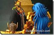 Saga, Aioros frente al Pope Shion