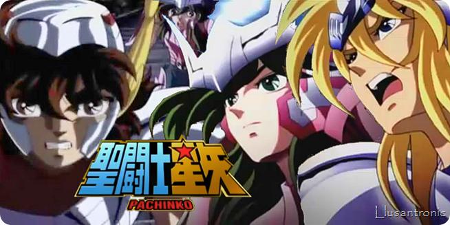 Impresionante vídeo de Saint Seiya, para Pachinko Game