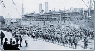 0626 débarquement à Saint-Nazaire des premières troupes américaines
