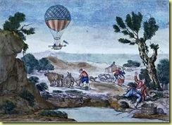0107 première traversée de la Manche en ballon