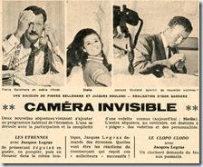 la caméra invisible