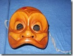 masque d'arlequin