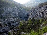 Slap v dolini Glinščice