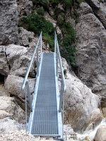 Most pod gornjim Martuljški slapom