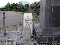 Mejni kamen vrh prelaza