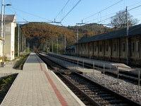 Železniška postaja Gornje Ležeče