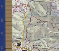 Zemljevid Alničje