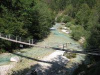 Viseči most čez Koritnico