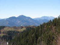 Pogled na Uršljo goro in Peco