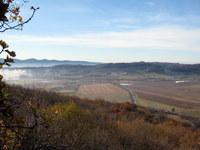 Pogled na dolino s pobočja