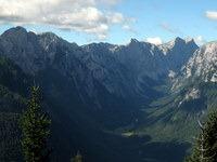 Pogled na dolino Krme