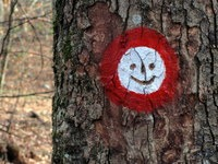 Nasmejana Knafljeva markacija