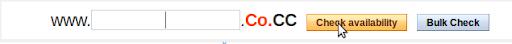 Cara Mendaftar Domain Gratis Co.CC, Sudah ter-index Google Kembali