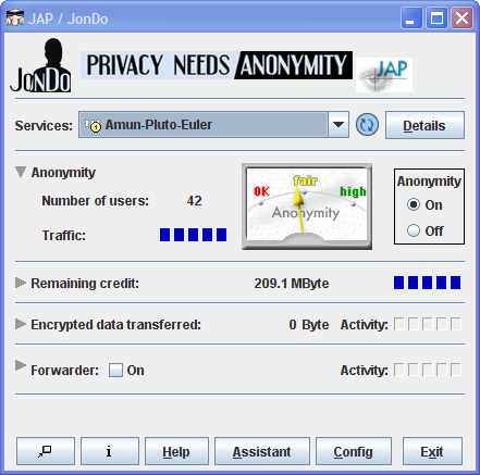 JAP – JonDo Anonymity Proxy Hide IP