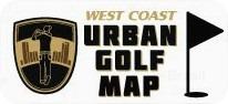 West Coast Urban Golf Map