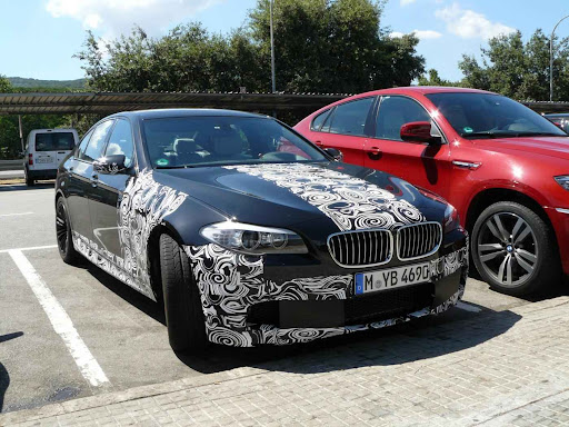 The 2012 BMW M5 has finally