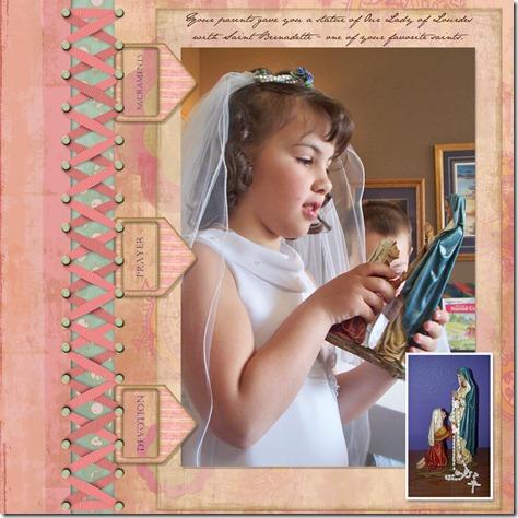 Mikaylas 1st Communion - Page 019