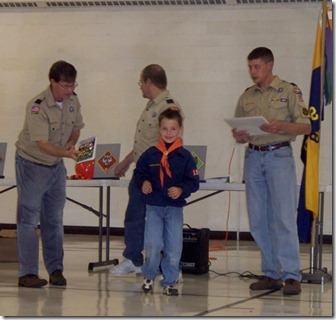 Tiger Cub Scouts MNPack18