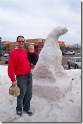 Monticello CC Snow Sculptures