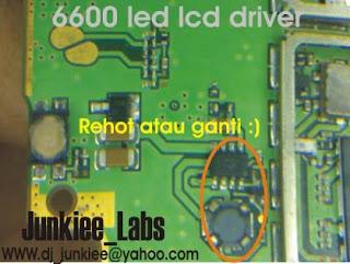 Trik  Jumper 6600 Led Lcd